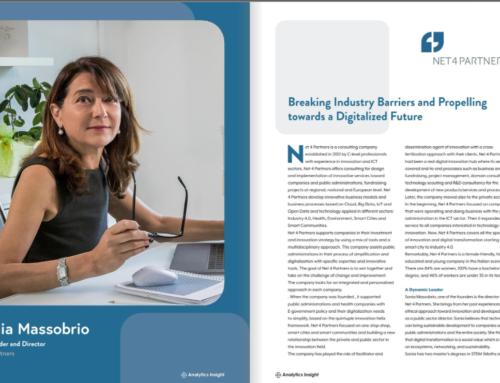 Net 4 Partners è una delle 10 aziende più importanti nella trasformazione digitale 2020
